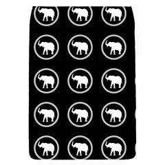 Elephant Wallpaper Pattern Flap Covers (s)