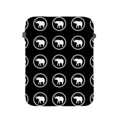 Elephant Wallpaper Pattern Apple Ipad 2/3/4 Protective Soft Cases