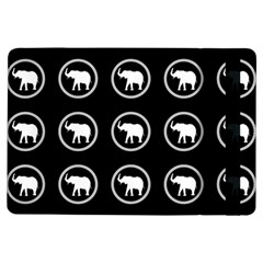 Elephant Wallpaper Pattern Ipad Air Flip