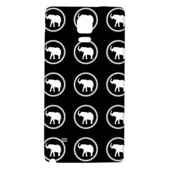 Elephant Wallpaper Pattern Galaxy Note 4 Back Case