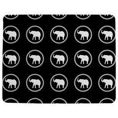 Elephant Wallpaper Pattern Jigsaw Puzzle Photo Stand (Rectangular)
