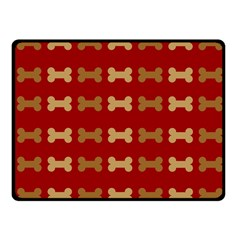Dog Bone Background Dog Bone Pet Fleece Blanket (Small)