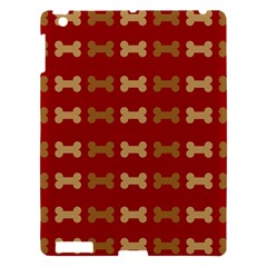 Dog Bone Background Dog Bone Pet Apple Ipad 3/4 Hardshell Case
