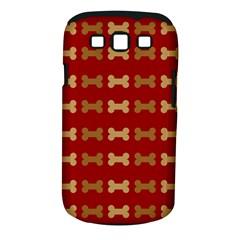 Dog Bone Background Dog Bone Pet Samsung Galaxy S Iii Classic Hardshell Case (pc+silicone)