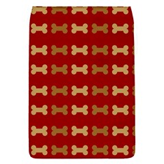 Dog Bone Background Dog Bone Pet Flap Covers (S)