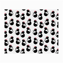 Cat Seamless Animal Pattern Small Glasses Cloth (2 Side)