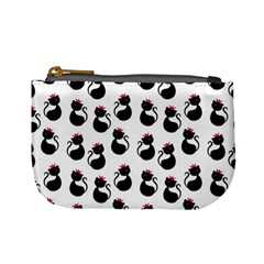 Cat Seamless Animal Pattern Mini Coin Purses