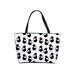 Cat Seamless Animal Pattern Shoulder Handbags