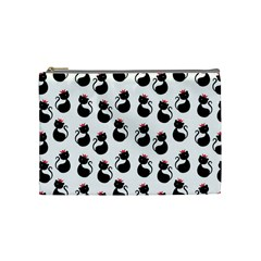 Cat Seamless Animal Pattern Cosmetic Bag (medium)