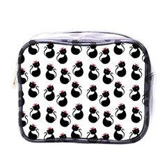 Cat Seamless Animal Pattern Mini Toiletries Bags