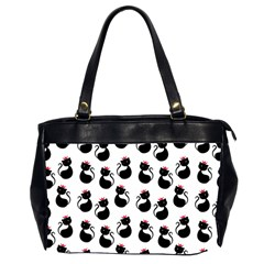 Cat Seamless Animal Pattern Office Handbags (2 Sides)