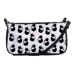 Cat Seamless Animal Pattern Shoulder Clutch Bags