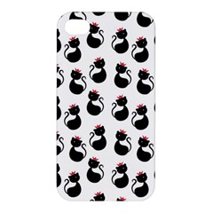 Cat Seamless Animal Pattern Apple Iphone 4/4s Hardshell Case