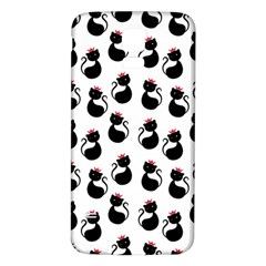 Cat Seamless Animal Pattern Samsung Galaxy S5 Back Case (white)