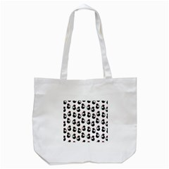 Cat Seamless Animal Pattern Tote Bag (white)