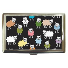 Sheep Cartoon Colorful Cigarette Money Cases