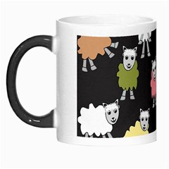 Sheep Cartoon Colorful Morph Mugs