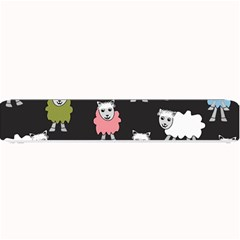 Sheep Cartoon Colorful Small Bar Mats