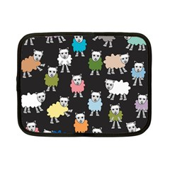 Sheep Cartoon Colorful Netbook Case (small)