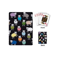 Sheep Cartoon Colorful Playing Cards (Mini)