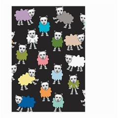 Sheep Cartoon Colorful Small Garden Flag (Two Sides)
