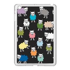 Sheep Cartoon Colorful Apple Ipad Mini Case (white)