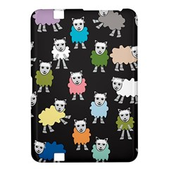 Sheep Cartoon Colorful Kindle Fire Hd 8 9