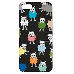 Sheep Cartoon Colorful Apple Iphone 5 Hardshell Case With Stand