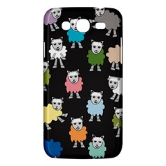 Sheep Cartoon Colorful Samsung Galaxy Mega 5 8 I9152 Hardshell Case