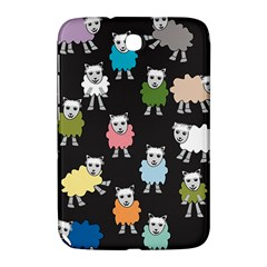 Sheep Cartoon Colorful Samsung Galaxy Note 8 0 N5100 Hardshell Case