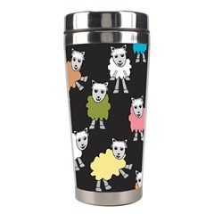 Sheep Cartoon Colorful Stainless Steel Travel Tumblers