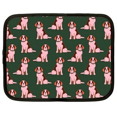 Dog Animal Pattern Netbook Case (large)