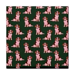 Dog Animal Pattern Face Towel