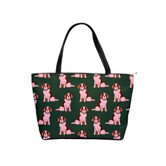Dog Animal Pattern Shoulder Handbags