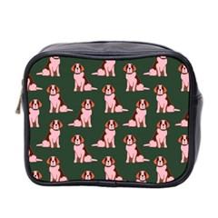 Dog Animal Pattern Mini Toiletries Bag 2 Side