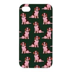 Dog Animal Pattern Apple Iphone 4/4s Hardshell Case