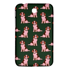 Dog Animal Pattern Samsung Galaxy Tab 3 (7 ) P3200 Hardshell Case