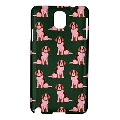 Dog Animal Pattern Samsung Galaxy Note 3 N9005 Hardshell Case