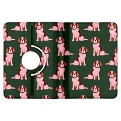 Dog Animal Pattern Kindle Fire Hdx Flip 360 Case
