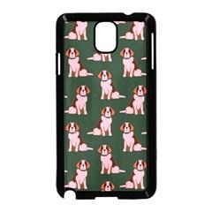 Dog Animal Pattern Samsung Galaxy Note 3 Neo Hardshell Case (black)