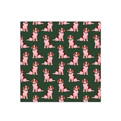 Dog Animal Pattern Satin Bandana Scarf
