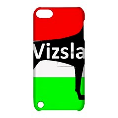 Vizsla Silo Name On Hungary Flag Apple iPod Touch 5 Hardshell Case with Stand