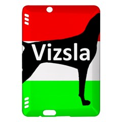 Vizsla Silo Name On Hungary Flag Kindle Fire HDX Hardshell Case