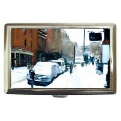Bedford Avenue Snow Brooklyn Nyc 11211 Case