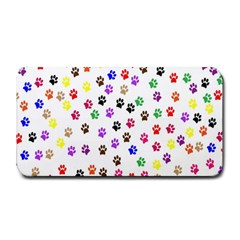 Paw Prints Background Medium Bar Mats