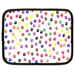 Paw Prints Background Netbook Case (xxl)