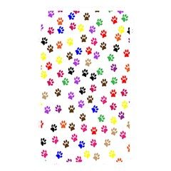 Paw Prints Background Memory Card Reader