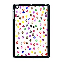 Paw Prints Background Apple Ipad Mini Case (black)