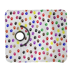 Paw Prints Background Galaxy S3 (flip/folio)
