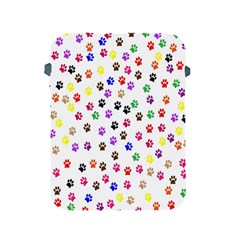 Paw Prints Background Apple iPad 2/3/4 Protective Soft Cases